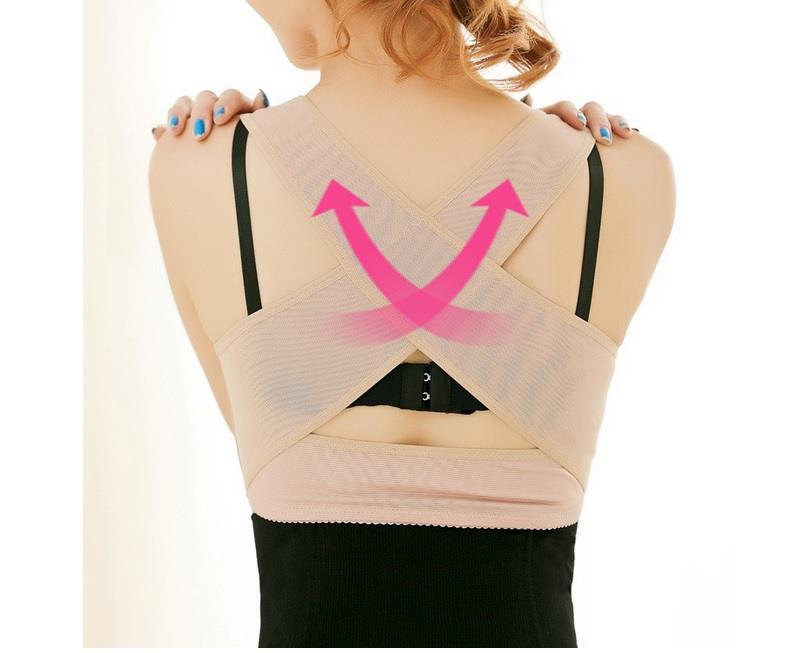 7846a181bb Women Adjustable Posture Corrector Back X Support Push Up Bust Shaper