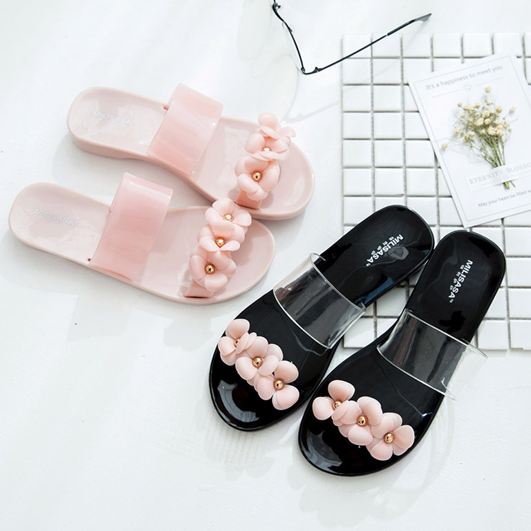 Women Beach Wears Anti-skid Flat Sandals (2 Color) MT022392