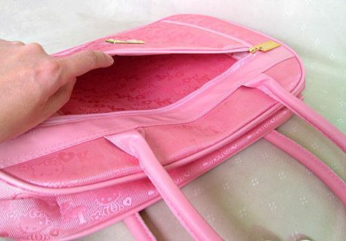 Women Big Hello Kitty Travel Handbag Luggage Messenger Shoulder Bag 04fe49010ed56
