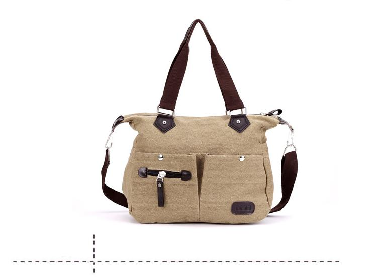 6d0ae45668 Women New Design European Canvas Hand Bag Shoulder Bag Sling Bag
