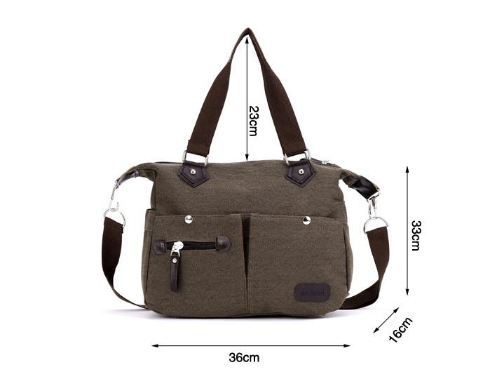 513d5edf15 New Women Design European Style Canvas Hand Bag Shoulder Bag Sling Bag