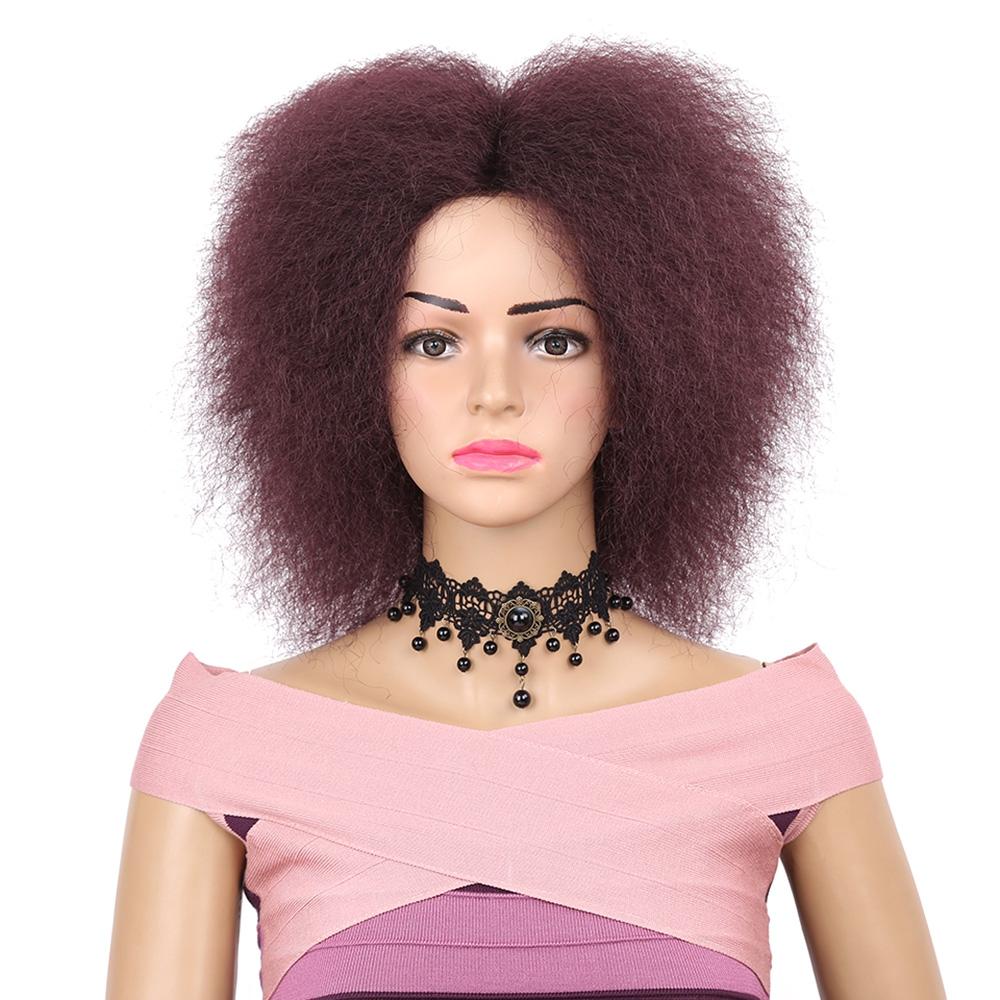 Women Hair Synthetic Fiber Short Kin (end 5 27 2019 2 50 PM) 54cbf3bb8404