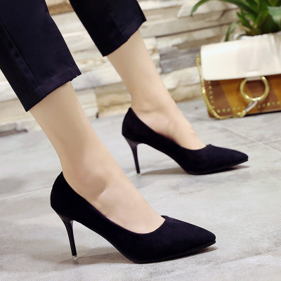 8666adc1d73 Women High Heels Office Sexy Black W (end 4 2 2021 12 00 AM)