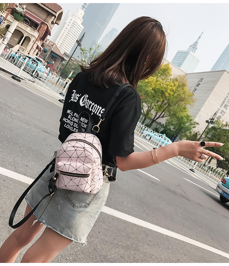 Women Korean Fashion Mini Girl Small Sling Shoulder and Backpack