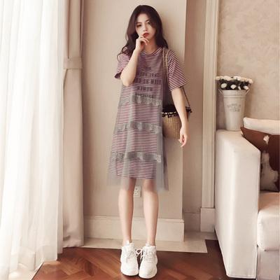 0cd3cd3fc0a Women Korean Trend Short Sleeve Medi (end 6 4 2021 12 00 AM)