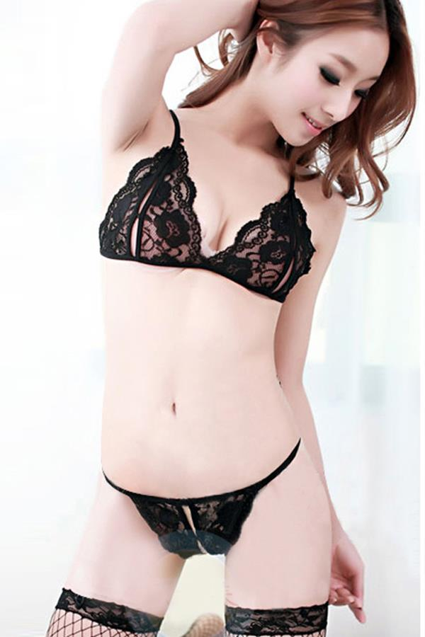 Open sexy lingerie