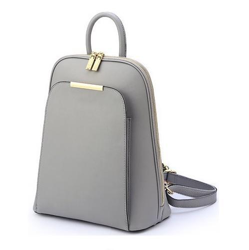 Women Lady Girl PU Leather Backpack Sling Shoulder Bag Handbag. ‹ › bba913df49fac
