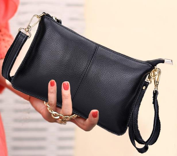 ee8a062b326c26 Women Leather Clutch & Sling Bag Sh (end 8/18/2019 10:52 PM)