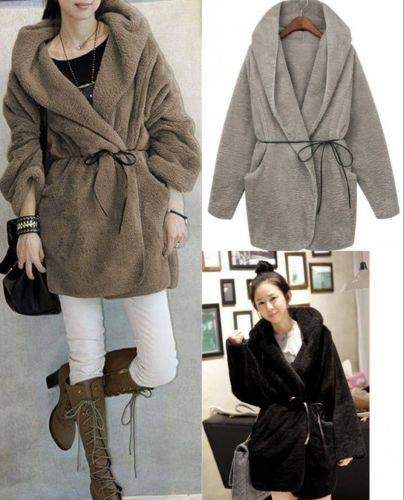 Women Long Sleeve Hooded Fleece Cardi (end 3/1/2016 1:15 AM)