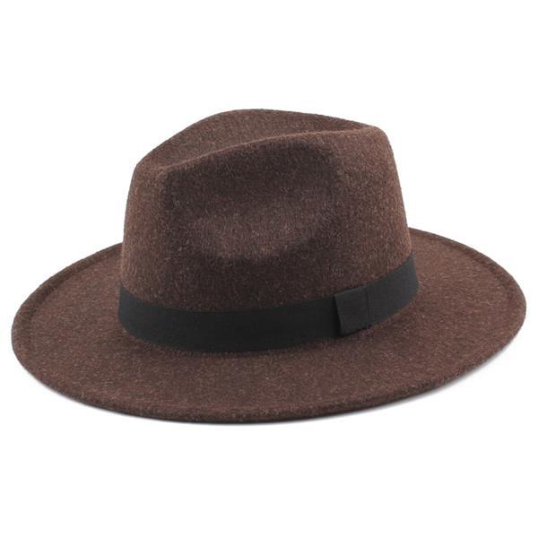 Women Men Unisex Felt Trilby Hats Wi (end 11 3 2019 1 15 PM) b4269080f794
