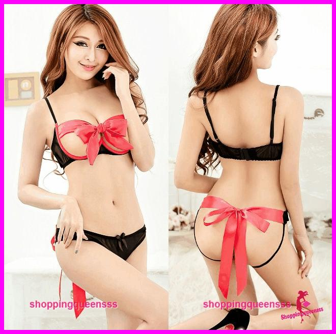 Open breast lingere