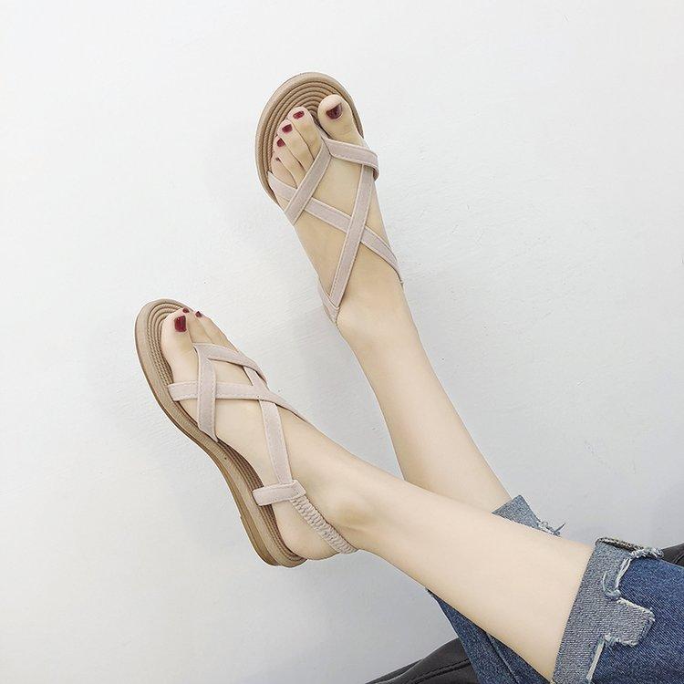 43cfb0c54 Women Roman Flat Thong Sandals Summer Wear Korean Fashion Plus Size Sa