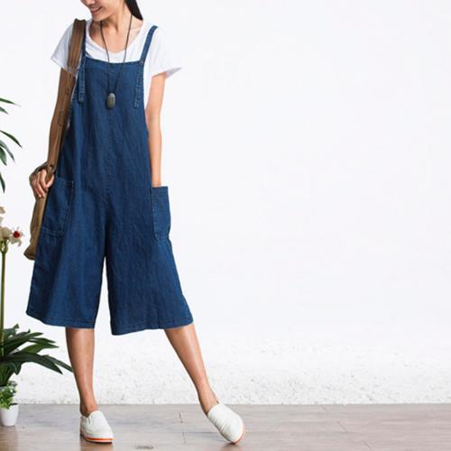 Womens Baggy Denim Jeans Jumpsuit End 732019 1008 Am