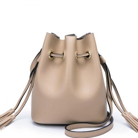 360e8048b1 Women s Drawstring Bucket Bag Tassel (end 7 10 2019 2 07 PM)