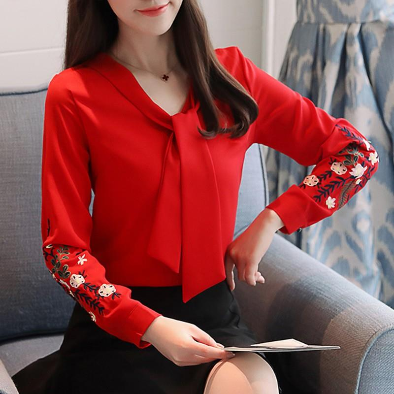 392f949eae573 Women's Long Sleeve Embroidery Chiffo (end 7/7/2019 1:15 PM)