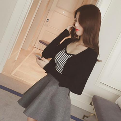 7f53e7c14aa Women's Stylish Mini Skirt (Grey)
