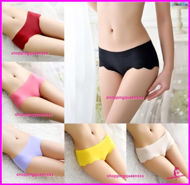623816b24a1 Women Sexy Underwear Wave Seamless Ice Silk Panties Briefs Lingerie. ‹ ›