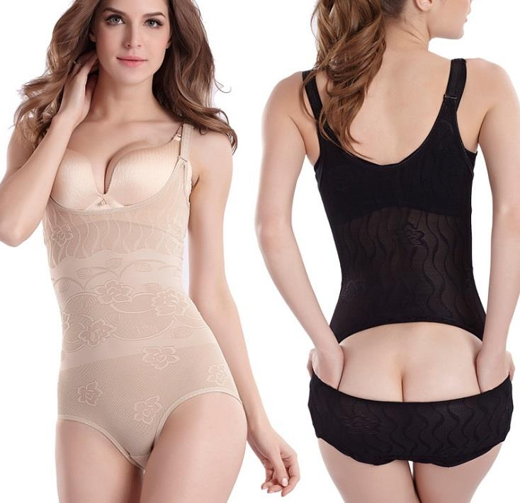 Women shapewear slimming underwear corset back open design9020