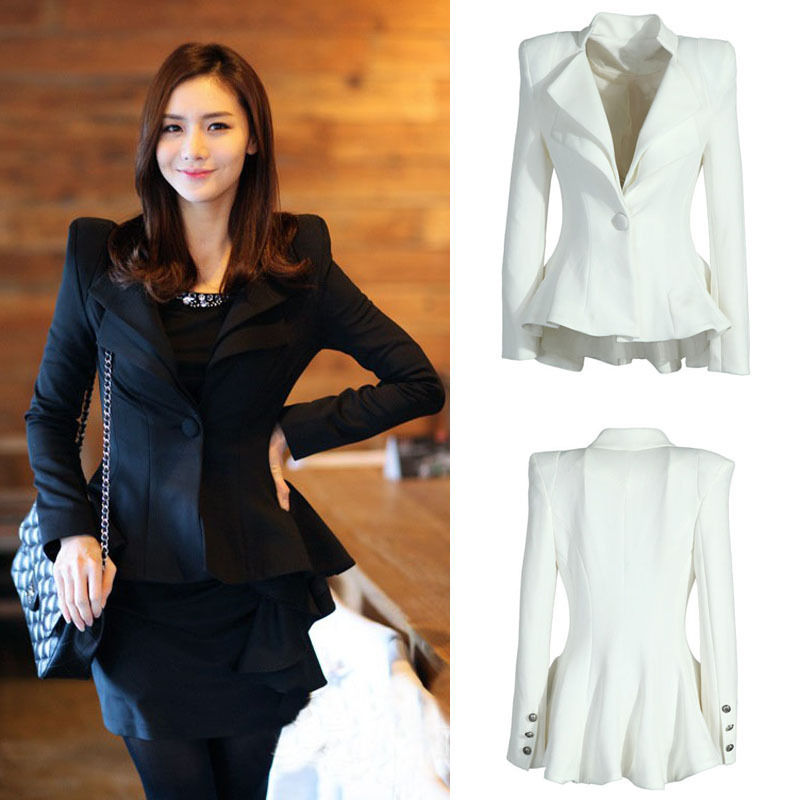 Women White Black Casual Suit One Bu (end 4/12/2018 8:23 PM)