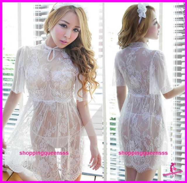 Womens White Lace Dress