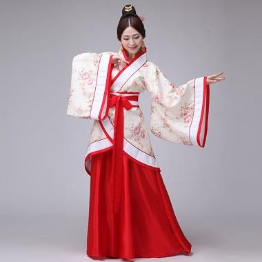Women Woman Man Chinese Traditional Old Dress School Uniform Costume