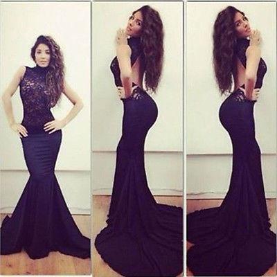 Long dress bodycon evening