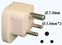 WONPRO UNIVERSAL TRAVEL ADAPTER (WAS-10) (INDIA, S.AF, HK)