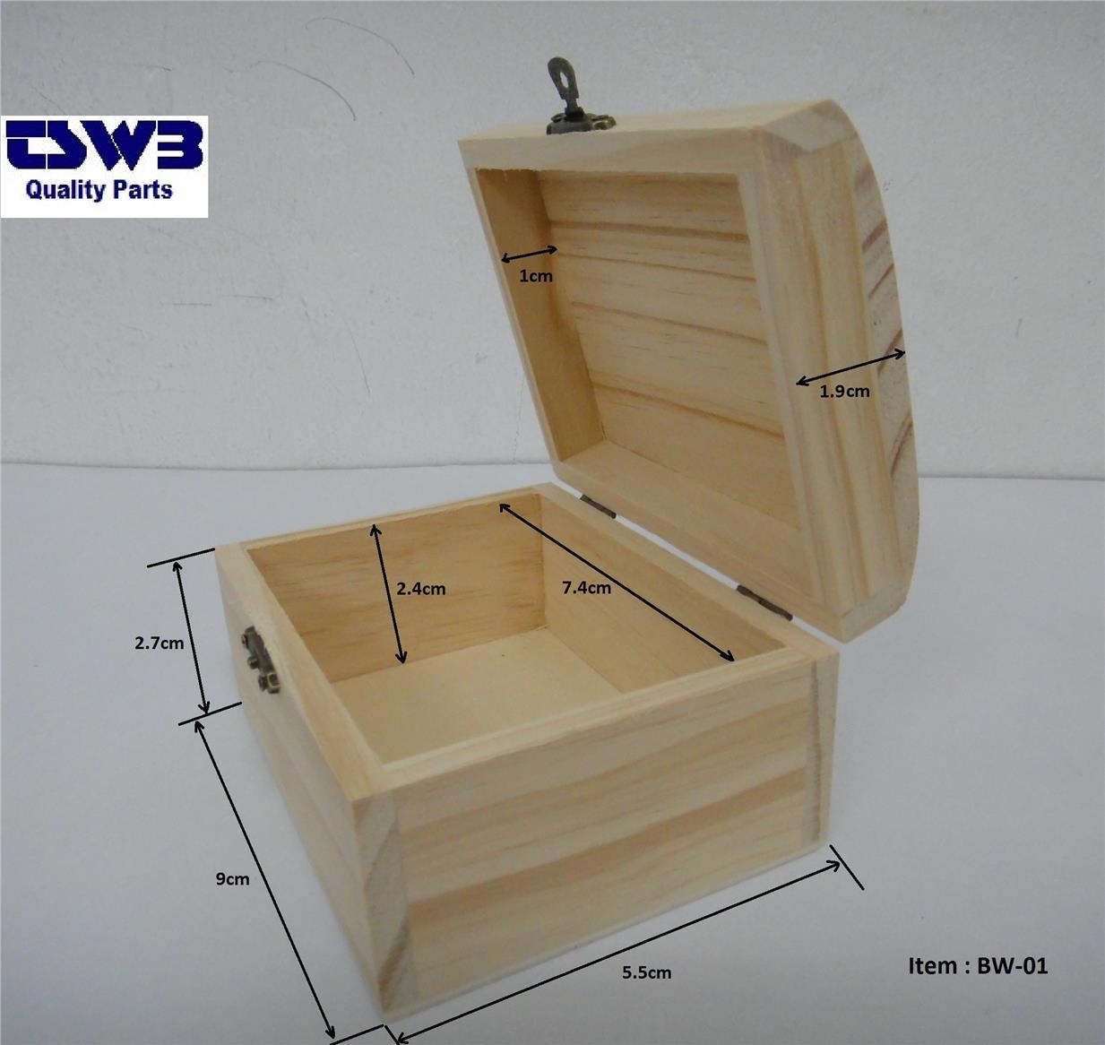 Wood Jewelry Storage Box Bw  Gift Souvenir