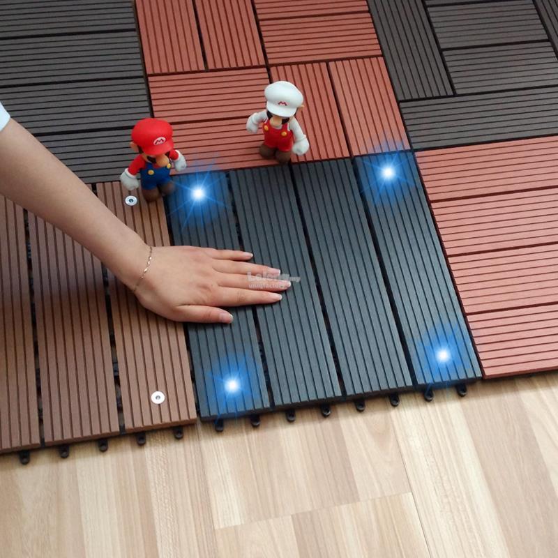 Wood Plastic Composite Flooring wit (end 7/27/2020 11:15 PM)