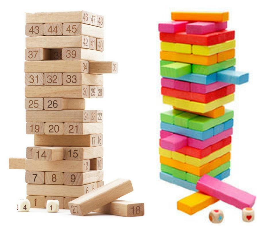 Wooden Color Number Stacking Block U End 1 30 2019 5 15 Pm