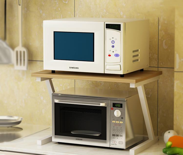 Wooden Kitchen Rack Storage Mic