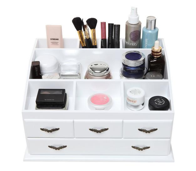 wooden makeup organizer skincare st end 10 6 2019 12 15 pm