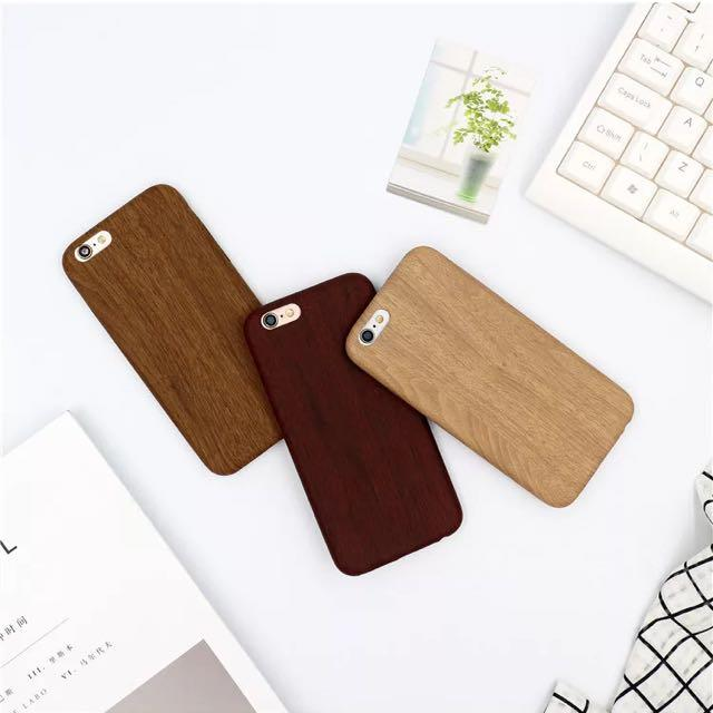 Wooden Printed Case Soft Tpu Cover Apple Iphone 55s66plus77plus