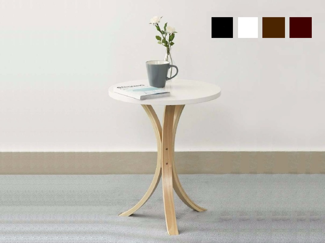 Wooden Small Round Table Coffee Tabl (end 8/21/2020 4:12 PM)