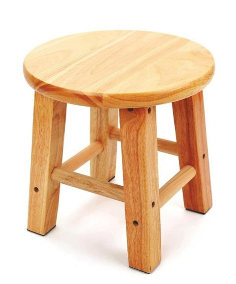 new product 6a89f 6b629 Wooden Stool Chair Round Benches Furniture Home Room Decoration