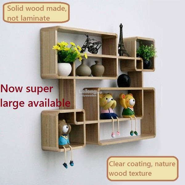 Diy Decorative Wood Wall Shelves - House Designer Today •