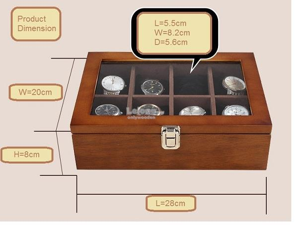 wooden watch box collection box w end 6 20 2019 10 36 pm