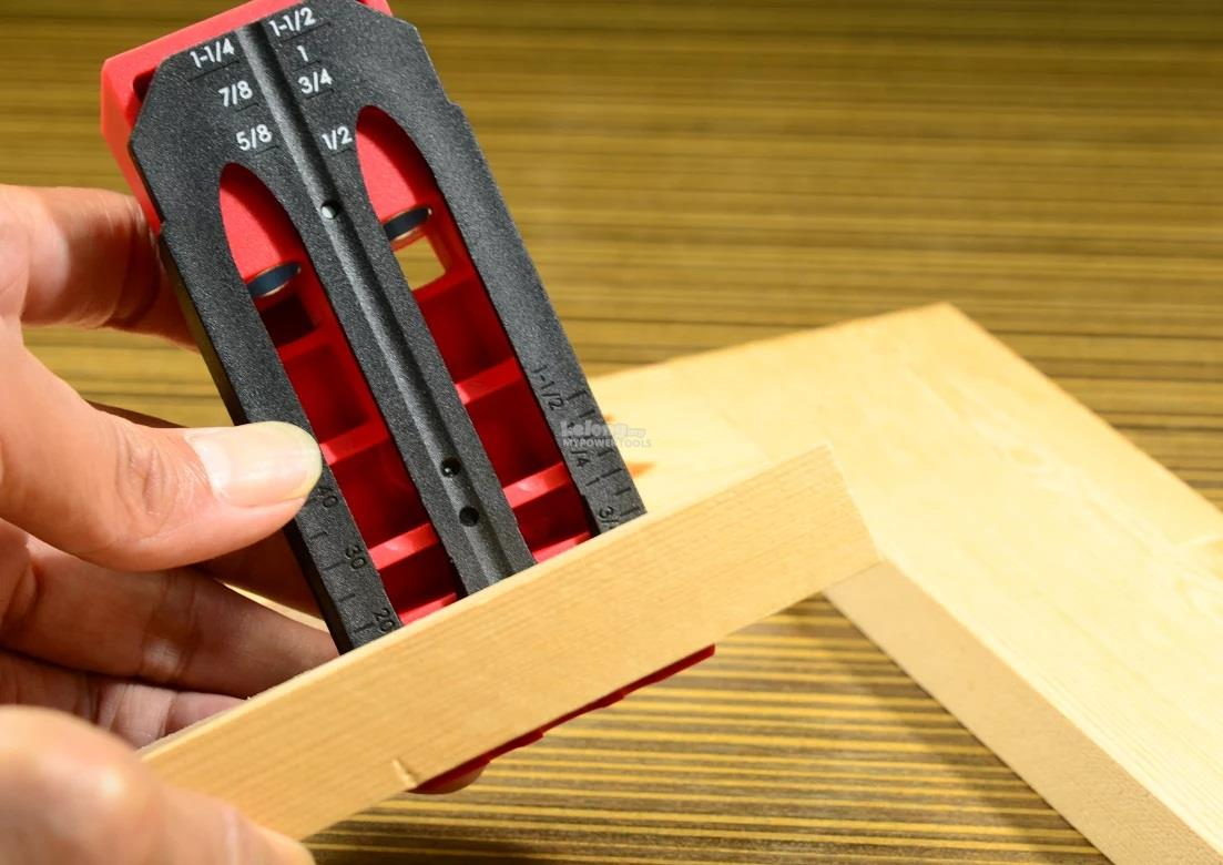 Woodfox Twin Pocket Hole Jig Tool Kit