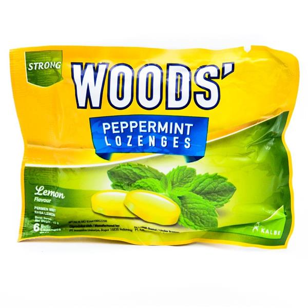 Woods Lemon Lozenges 6s X 5 packs