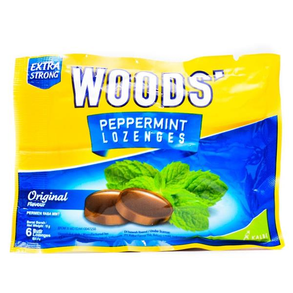 Woods Original Lozenges 6s X 5 packs