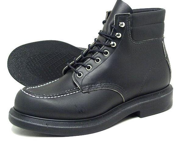 Work Boots Red Wing Lifestyle 6Inch Black Super Sole 8133