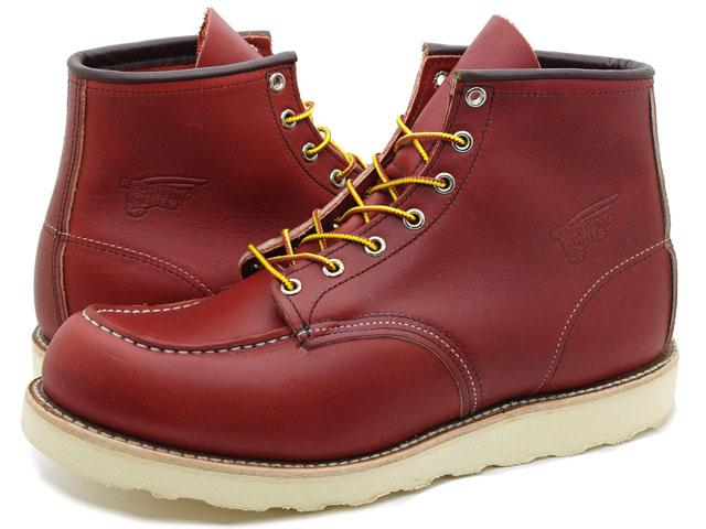 Work Boots Red Wing Lifestyle 6Inch Brown Oro Russet Portage 8131