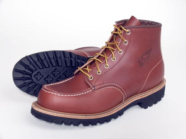 Work Boots Red Wing Lifestyle 6Inch Brown Oro Russet Portage 8135