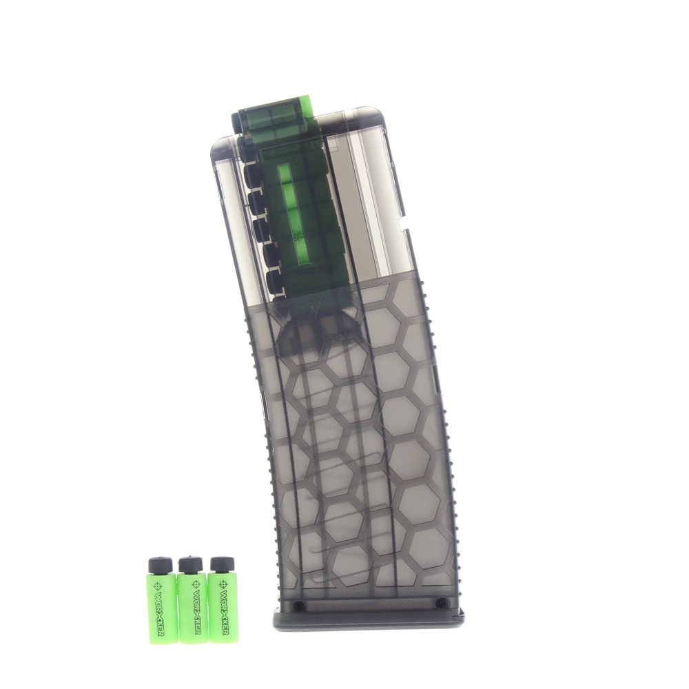 Worker 15-Darts Honeycomb Quick Reload Clip Magazine for Nerf Toy Gun ..