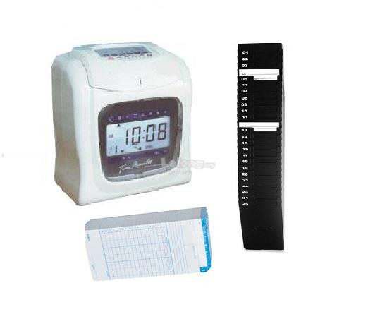 WORKER TIME RECORDER MACHINE -FULL SET **8YR WARRANTY**