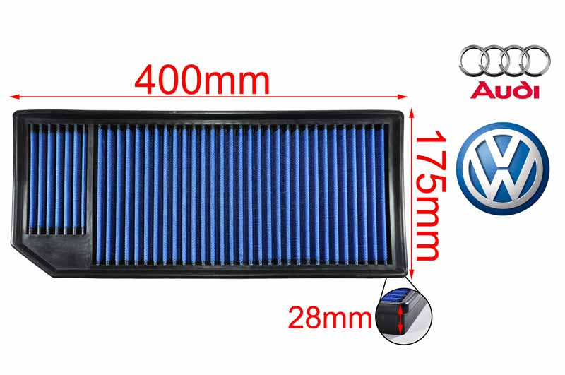 WORKS Drop In Filter GOLF V / SCIROCCO 2.0GTI L4 (early model)