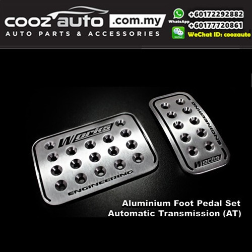 Works Engineering Automatic Transmission (AT) Aluminum Sports Pedal
