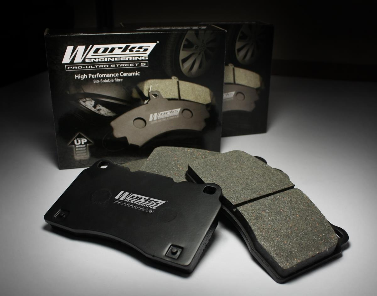 WORKS ENGINEERING Front  Brake Pad EXORA 1.6