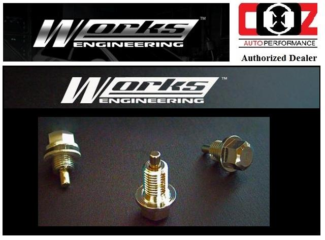 WORKS ENGINEERING MAGNETIC OIL SUMP NUTS BMW