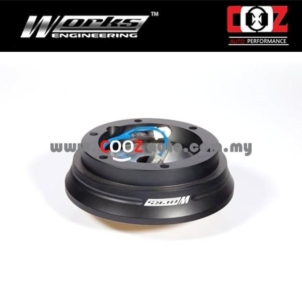 Works Engineering Short Hub Boss Kit Honda Fit/ Jazz / City